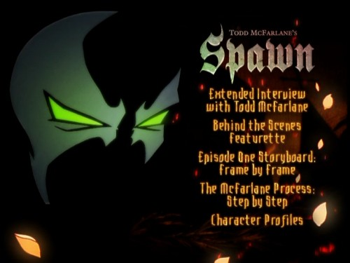 Spawn - Special Features