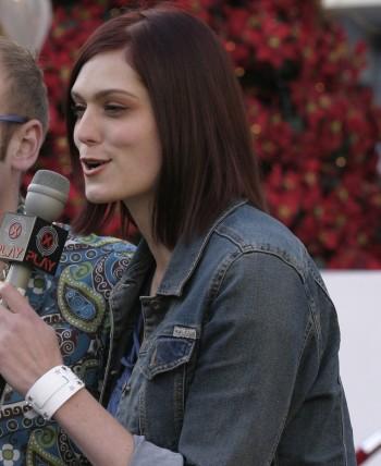Morgan Webb Microphone