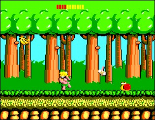 Wonderboy - Sega Master System