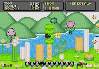 Super Fantasy Zone - Sega Genesis