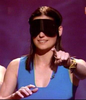 Morgan Webb Blindfold