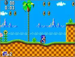 Sonic the Hedgehog – Sega Master System