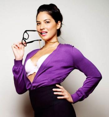 Olivia Munn - Purple