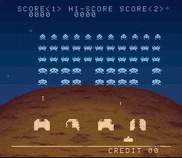 Space Invaders – SNES