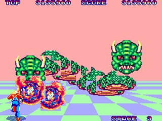Space Harrier - SMS