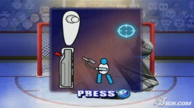 Hockey All Star Shootout - WiiWare