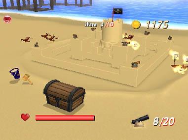 Sandy Beach - WiiWare