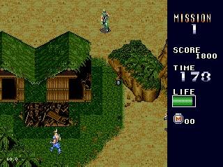 MERCS – Sega Genesis