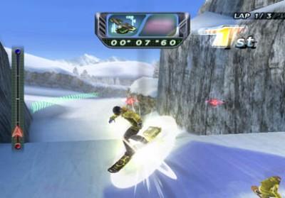 Snowboard Riot - WiiWare