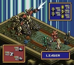 Ogre Battle – SNES
