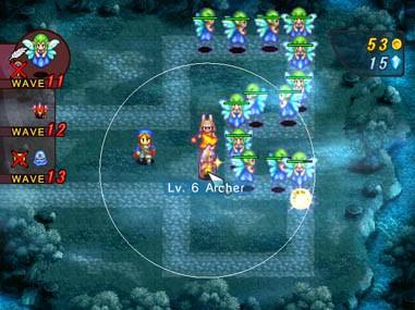 Crystal Defenders - WiiWare