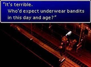 Final Fantasy 7 Underwear