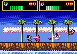 Wonder Boy III: Monster Lair – Sega Genesis