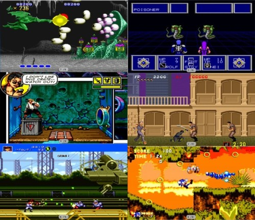 Sega 6-pack – Xbox Live Arcade