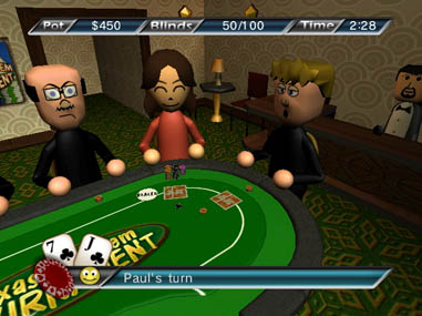 Texas Hold 'Em - WiiWare