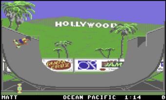 California Games – Commodore 64
