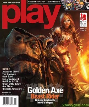 Golden Axe - Beast Rider