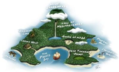 Pirate Bay Map