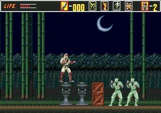 Revenge of Shinobi – Sega Genesis