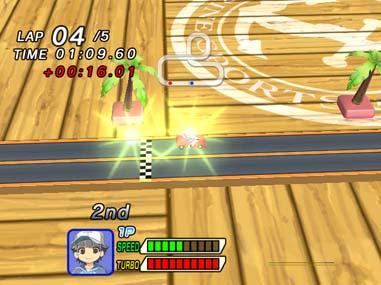 Family Slot Car Racing - WiiWare