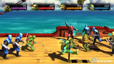 TMNT: Turtles in Time – Xbox Live Arcade