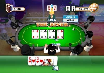 Texas Hold 'Em Poker - WiiWare
