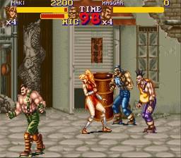 Final Fight 2 – SNES
