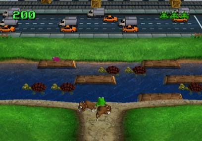 Frogger Returns - WiiWare