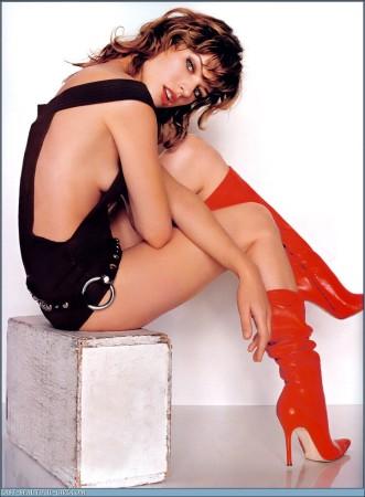 Milla Jovovich – GoGo Boots