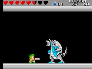 Wonder Boy III: The Dragon's Trap – SMS