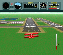 Pilot Wings – SNES