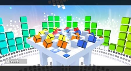 Rubik's Puzzle Galaxy RUSH - WiiWare