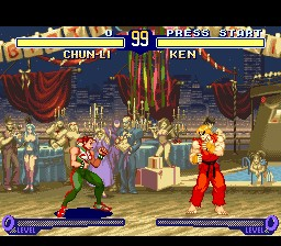 Street Fighter Alpha 2 – SNES