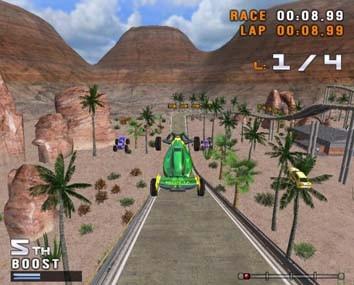 Stunt Cars - WiiWare