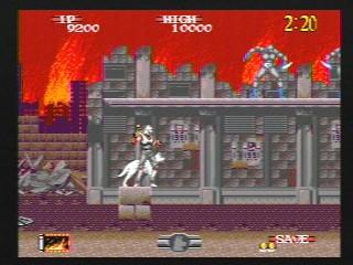 Shadow Dancer – Sega Genesis