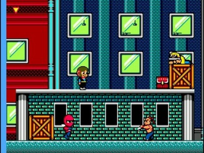 Alex Kidd in Shinobi World – Sega Master System