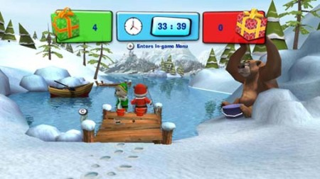 Hubert the Teddy Bear Winter Games - WiiWare