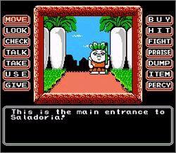 Princess Tomato in the Salad Kingdom – NES