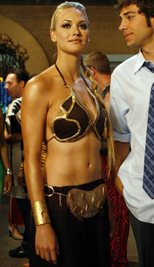 Yvonne as Leia