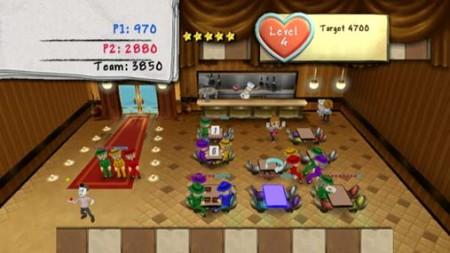 Diner Dash - WiiWare