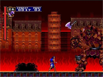 Castlevania Dracula X: Rondo of Blood - PC Engine