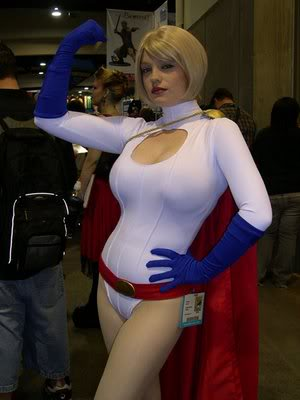 Powergirl - Cosplay