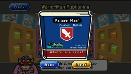 WarioWare: D.I.Y. Showcase - WiiWare