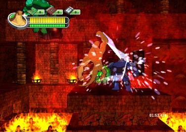 Ben 10 Alien Force: The Rise of Hex - WiiWare