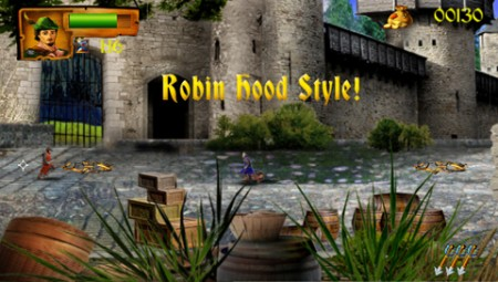 Robin Hood: The Return of Richard - WiiWare