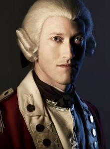 Samuel Roukin as Captain Simcoe - TURN _ Season 1 _