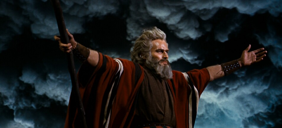 Gino Reviews The Ten Commandments On UHD Blu-ray In 4K